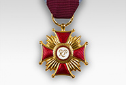 Gold Cross of Merit awarded by the President of Poland